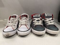 Lot Converse All Star Boys Youth Sneakers 2 Pair Size 1 $17.50