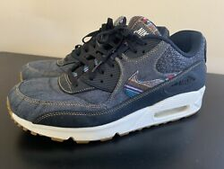 SZ 12 Men's Nike Air Max 90 Premium Afro Punk $74.99