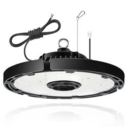 150W Commercial Led Fixture UFO High Bay Light 5000K Warehouse Garage Gym Lamp