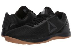 Reebok Crossfit Nano 7 All Black Weave Sneakers Mens size 9.5 $99.95