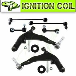 For 2003 2006 2007 Nissan Murano Pair of 6 Contorl Arm Front Rear Sway Bar Link $133.75