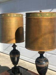 19th Century ANTIQUE Lamps Set of 2 $550.00