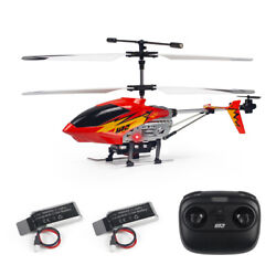 Cheerwing U12 2.4G Mini RC Helicopter RC Toys Red for Adults Kids amp; 2 Batteries $29.99