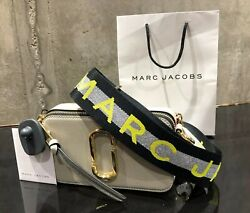 MARC JACOBS Snapshot Logo Strap DUST MULTI Small Camera Bag 100% AUTHENTIC amp; NEW $174.90