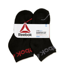 NEW Reebok Boys Socks 6 Pack Multisport Size M 8.5 2 Black $11.99
