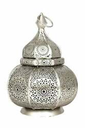 Moroccan Turkish Lamps Vintage Candle Holder Outdoors Chandelier Table Lamp $85.99