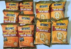 Huge Lot of Hot Hands and Body Warmers 40 Hand Warmers 48 Body Warmers $62.60
