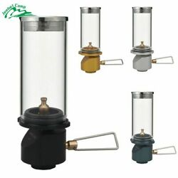 Lamp Gas Outdoor Camping Candle Tent Lantern Portable Lights Equipment Garden $30.59