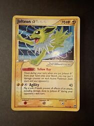 Jolteon Gold Star 101 108 Ultra Rare PL MP Power Keepers Pokemon $249.99