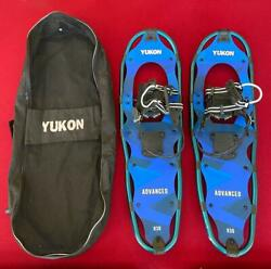 Yukon Charlie#x27;s Adult Advanced Snowshoes w Carrying Bag No Poles Gently Used $45.00