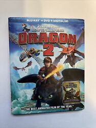 How to Train Your Dragon 2 w Slipcover Bluray Only 2014 BUY 2 GET 1 $6.99