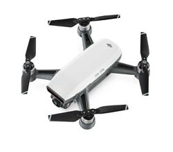 DJI Spark Mini Drone Fly More Combo Alpine White new  DJI Spark with Remote $430.00