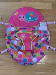 Bright Starts Fancy Fantasy Pink Bouncer Chair Replacement Seat Cover Turtle B6 $12.99