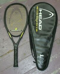 Head Intelligence i.S12 Tennis Racquet With Case 4 1 2 4quot; Grip $69.99