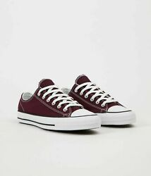 Converse CTAS PRO All Star Men#x27;s Skateboard Shoes Suede Rose Maroon White166832C $47.47