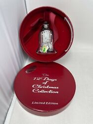 Waterford Crystal 12 Days of Christmas Bell Ornament 9 Ladies Dancing Edition $299.99