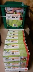 Biobag MaxAir Kitchen Compost Caddy amp; 12 Month Bag Supply Spring 1p Auction EUR 29.95