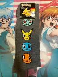 Pokemon quot;KANTO Men#x27;s Crew Socks Shoe Size 6.5 12 Socks Size 10 13 $5.50