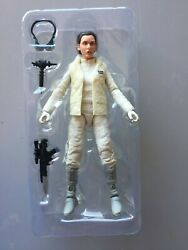 Star Wars Black Series 6quot; action Figure: 40th Princess Leia Hoth loose $19.85