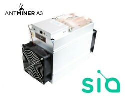 ANTMINER A3 Blake2b 815GH s USA SELLER IN HAND $130.00