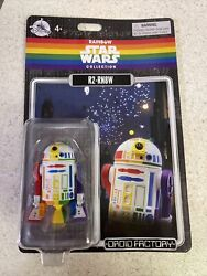 Disney Parks Exclusive Star Wars Rainbow Pride R2 RN8W Rainbow Droid Factory NEW $30.00