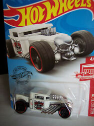 HOTWHEELS TARGET RED EDITION BONE SHAKER with BLACK 5 DOUBLE SPK RED RING WHLS $7.85