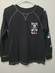 Arizona Jean Company Rock N Roll Thermal Shirt Boys Size Lg 14 16 $7.99