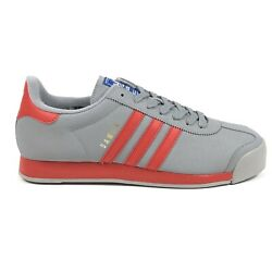 Adidas Originals Samoa Mens 13 Midnight Gray Red Low Shoes Sneakers BB8586 $64.95