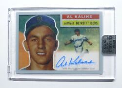 2018 Topps Clearly Authentic 1956 style Al Kaline Tigers HOF On card Auto $89.99