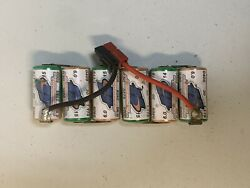 Vintage RC Battery 6 Cell Hurricane Matched 3300 Losi Associated Rc10 Xxx Tlr $25.00