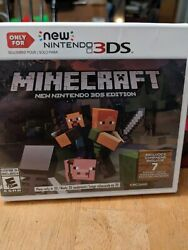 Minecraft for New Nintendo 3DS Nintendo 3DS sealed brand new $29.99