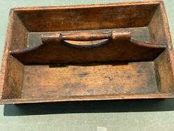 Antique Wooden Knife Box or Tray $35.00