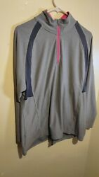 C9 by Champion XXL 2tg Women#x27;s Workout PullOver Pink and Gray 2x Plus Size $10.00