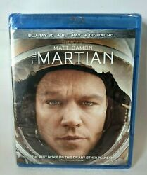 The Martian Blu ray 3D Blu ray and Digital Code Brand New Sealed $23.88