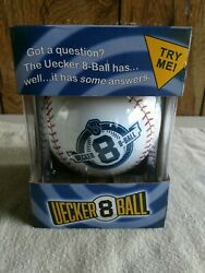 Bob Uecker 8 Ball 2017 Milwaukee Brewers Mr. Baseball Sealed