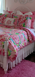 Lilly Pulitzer amp; Pottery Barn Teen Bedroom Double Queen LOCAL PICKUP ONLY $499.00