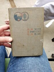 Antique With Fortune Made 1896 Hardback Book Victor Cherbuliez $50.00