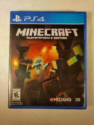 Minecraft for PlayStation 4 PLAYSTATION 4 PS4 Action Adventure Video Game $16.99