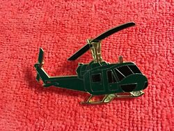 UH 1 HUEY HELICOPTER LARGE SIZE HAT PIN $8.45