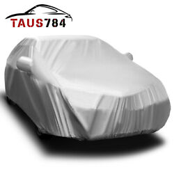 16ft Full Car Cover Auto Protection All Weather Shelter Sun UV Snow Resistant $18.99