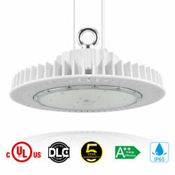 200W High Bay LED Light UFO 29000lm Warehouse Factory Commercial Light UL DLC