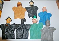 Vintage Wizard of Oz Proctor amp; Gamble Hand Puppets Lot of 7 1960s. $35.00