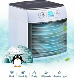 Home Innovations Breezy Cooler Portable Fan Mini Air Conditioner $24.99