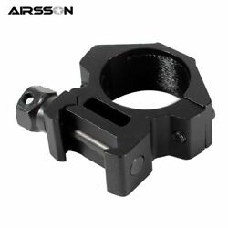 Tactical Flashlight Mount Ring Airsoft Riflescope Laser Hunting Shooting $11.55