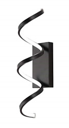 Led Helix Ring Extruded Rolled Rectangular Aluminum Multi Directional Wall Wall $54.69