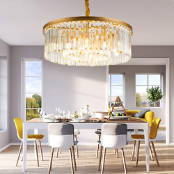 Luxurious Crystal Chandelier Modern Contemporary Chandelier 4 Tier European for $239.98