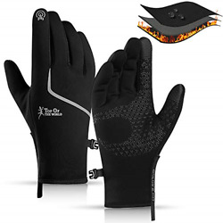 CXW Winter Cycling Gloves Waterproof Touch Screen Full Finger Warm Gloves for amp; GBP 21.10