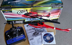 Blade CX2 Micro Helicopter Remote Box Manual No Battery Unflown ELFH1250 $45.98