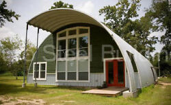 DuroSPAN Steel 40#x27;x30#x27;x20#x27; Metal Quonset DIY Home Building Kits Open Ends DiRECT $8495.00