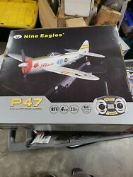 Remote Control Airplane 4 CH RC Plane p47 nine eagles Mustang Ready to Fly $169.00